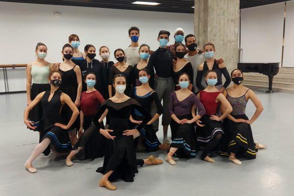 Escola Bolera amb Debora Martínez i Rubén Olmo, del Ballet Nacional d'Espanya